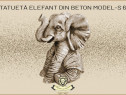 Statueta elefant mic din beton model S62.