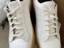 Sneakers Ermenegildo Zegna white,hand made,produs original