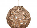 Lampa poliedru cu model Flower of Life 45 cm