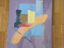 Set doua tablouri sigilate stil Abstract Franta