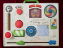 Tabla cu jocuri pentru copii Jucarie 1973 Fisher Price Belgi