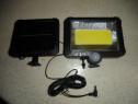 Lampa solara cu senzor de miscare COB/LED