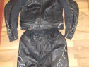 Costum moto cu cocoasa FLM sports racing tehnology safe-max