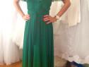 Rochie verde de zi pentru vara
