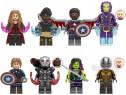 Set 8 Minifigurine tip Lego Marvel Avengers cu Gamora