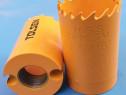 Carota (33 mm) bi-metal, dinti variabili, diverse utilizari