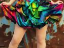 Rochie colorata pentru o aparitie remarcabila - Marimea S
