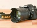 Nikon D 7100 cu obiectiv 18 105
