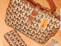 Geantă MICHAEL KORS material textil model tip office