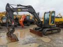 Midi excavator pe senile de cauciuc Volvo ECR88