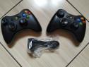 Xbox 360: Controller Xbox 360/PC wireless & cu fir dedicat