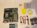 Placa de baza A8 V-VM ptr calculator+2 ram etc