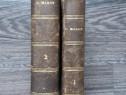 Carte veche 1823 oeuvres de clement marot doua volume