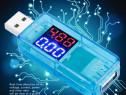 Voltmetru lcd color - tester de incarcare rapida (statie amp