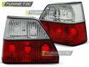 Stop stopuri triple tuning VW Golf 2 MK2 rosu/clar NOU
