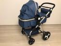 Carucior 3 in 1 Luna Travel Kota Baby Albastru cu leduri