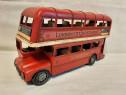Machetă din metal Bus London, decorativă