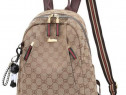Rucsace Gucci new model,material textil, import Italia