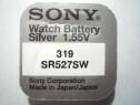 Baterie ceas Sony, cu argint 319-SR527SW.