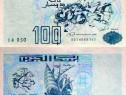 Bancnota 100 dinars, 1992, algeria, UNC
