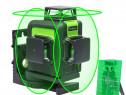 Nivela laser Huepar 903CG 3D, fascicul verde 360°