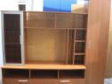 Biblioteca living 2,25 m cu rafturi si usi; Comoda; Dulap
