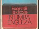 Exercitii lexicale in limba engleza