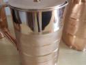 Carafa cupru 2L - cu capac din cupru