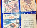 C98-Aventurile echipajului DOX-4 romane buzunar vechi 1930.