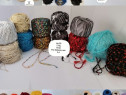 Ata fire crosetat tricotat bumbac lana vascoza acril pna