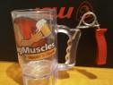 Halba bere cu flexor - muscle man
