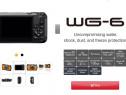 Aparat foto Ricoh WG6 - 4K - waterproof 20m - antisoc