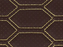 Material tapiterie cu gaurele diferite culori/cusatura hexa