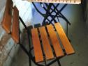 Masa terasa cu 2 scaune câștigate la concurs