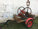 Remorca veche, antica pompieri - 1948 -