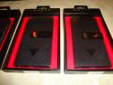 Husa Guess USA neagra flap case telefon apple iphone 6 plus