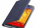 Husa Flip Originala Samsung Galaxy Note 3 Albastru