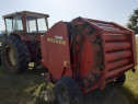 Tractor 4x4 si Presă Welger RP 12 rotunda