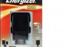 Incarcator 2Usb priza+ Cablu de date Energizer Fast Charging