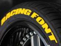 Marker Galben tunning permanent pentru anvelope auto cauciuc