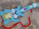 Jucarie cu melodii sunete chitara iepuras pentru copii 0747