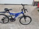 Bicicleta MTB Rich Noua 7-12ani +Dubla Suspensie/Full Shim