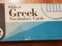 Biblical Greek Vocabulary Cards (Greaca - Engleza)