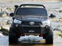 Masinuta electrica pentru 2 copii Toyota Hilux 4WD #Black