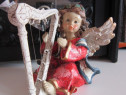 Ingeras cu harpa, efect antichizat-Germania-in cadou inedit