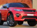 Masinuta electrica Land Rover Discovery cu Mp4 70W 12V #RED