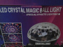 Joc lumini led cristal magic ball