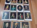 Lot de 15 vederi / carti postale,Portrete, necirculate