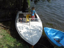 Barca cu motor model Ocna Mures