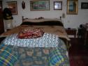 Dormitor complet, pat, dulap, 2 noptiere, comoda